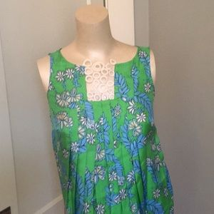Lilly Pulitzer Tara shell with white loops. NWT